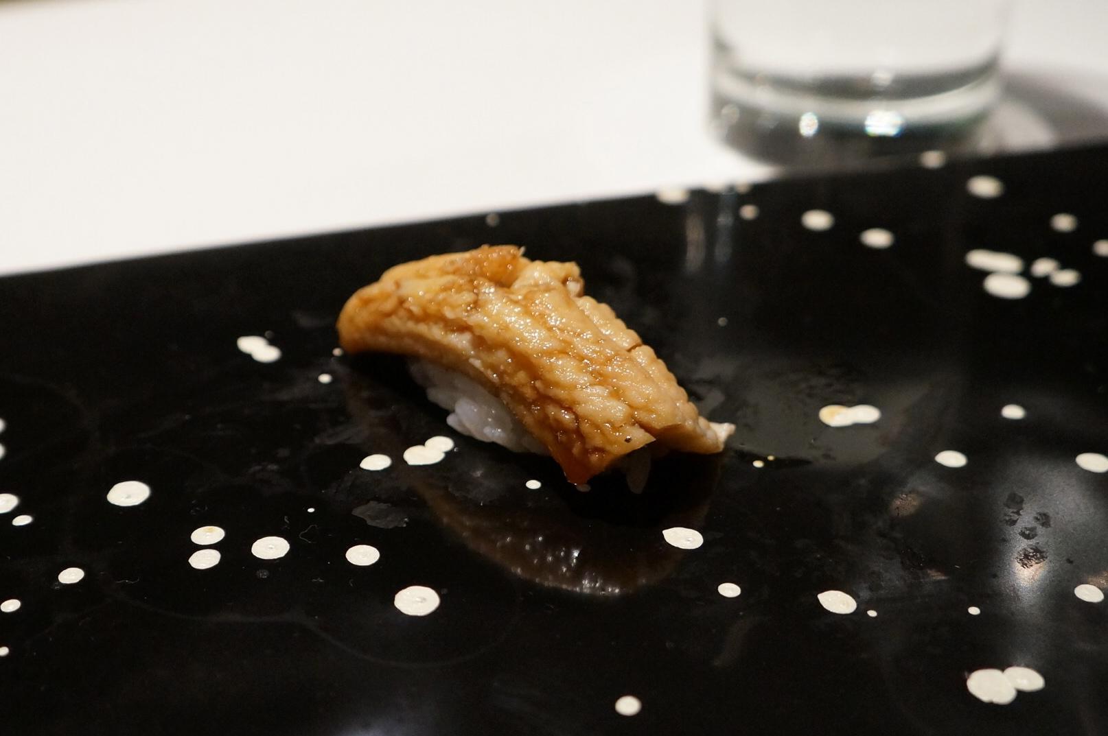 Eel at Sushi Nakazawa