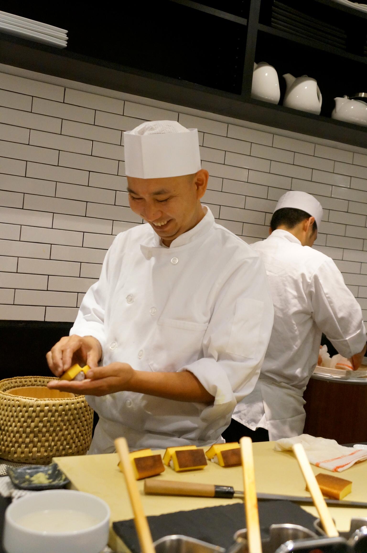 Nakazawa at Sushi Nakazawa