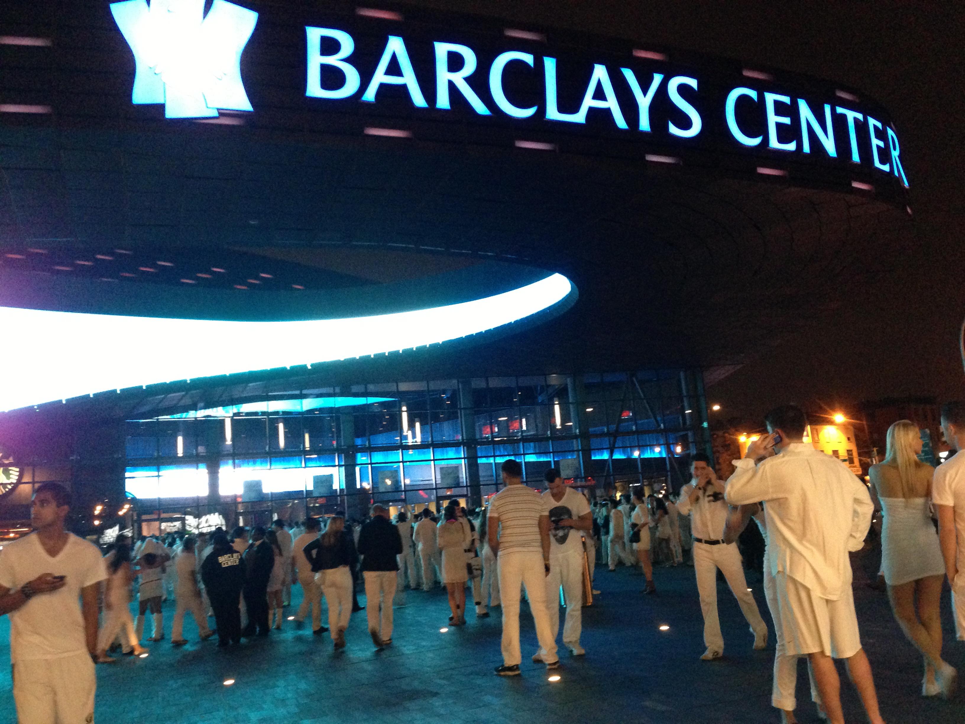Barclays Center Sensation White