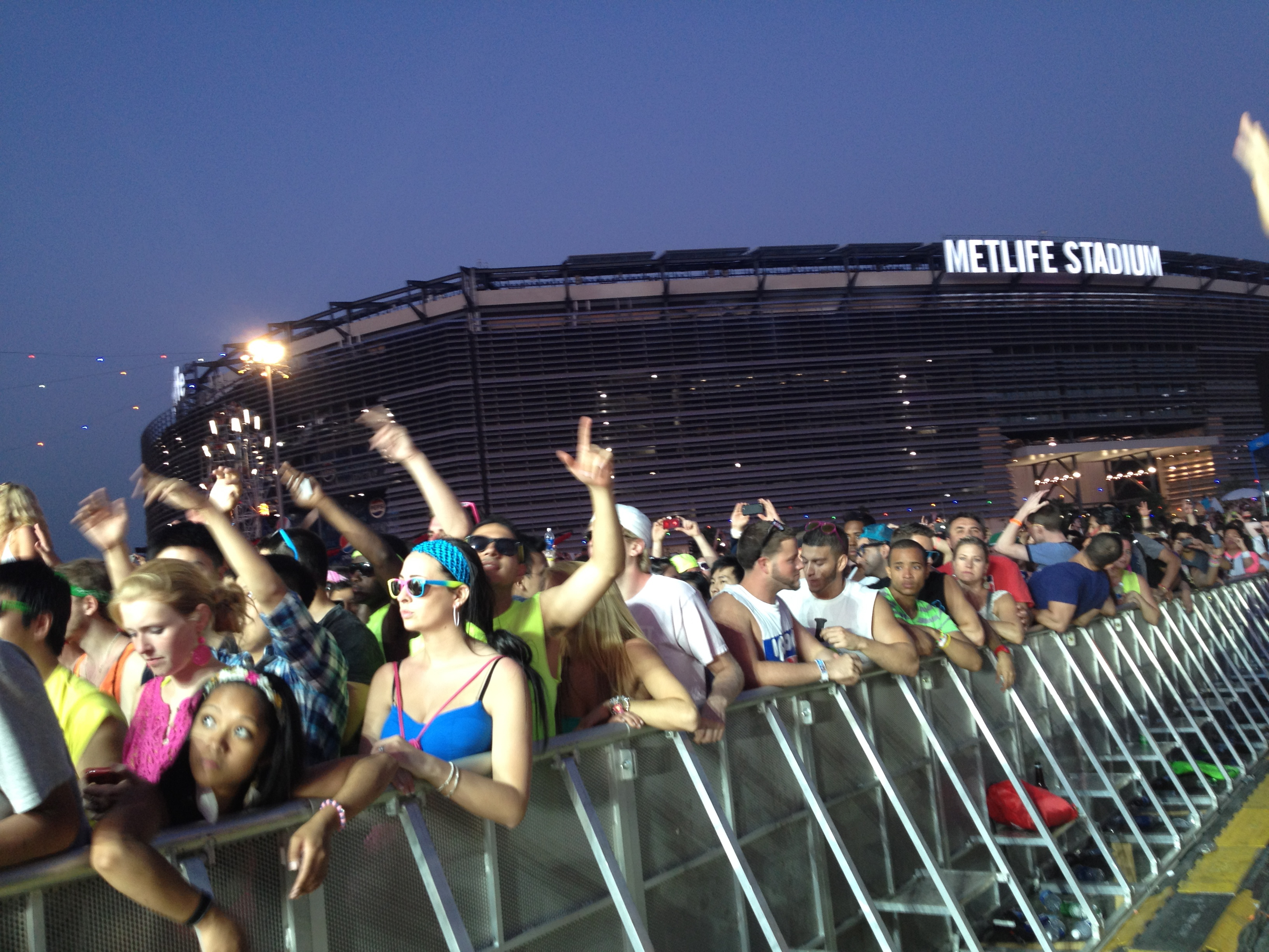 MetLife Stadium from EDC NY