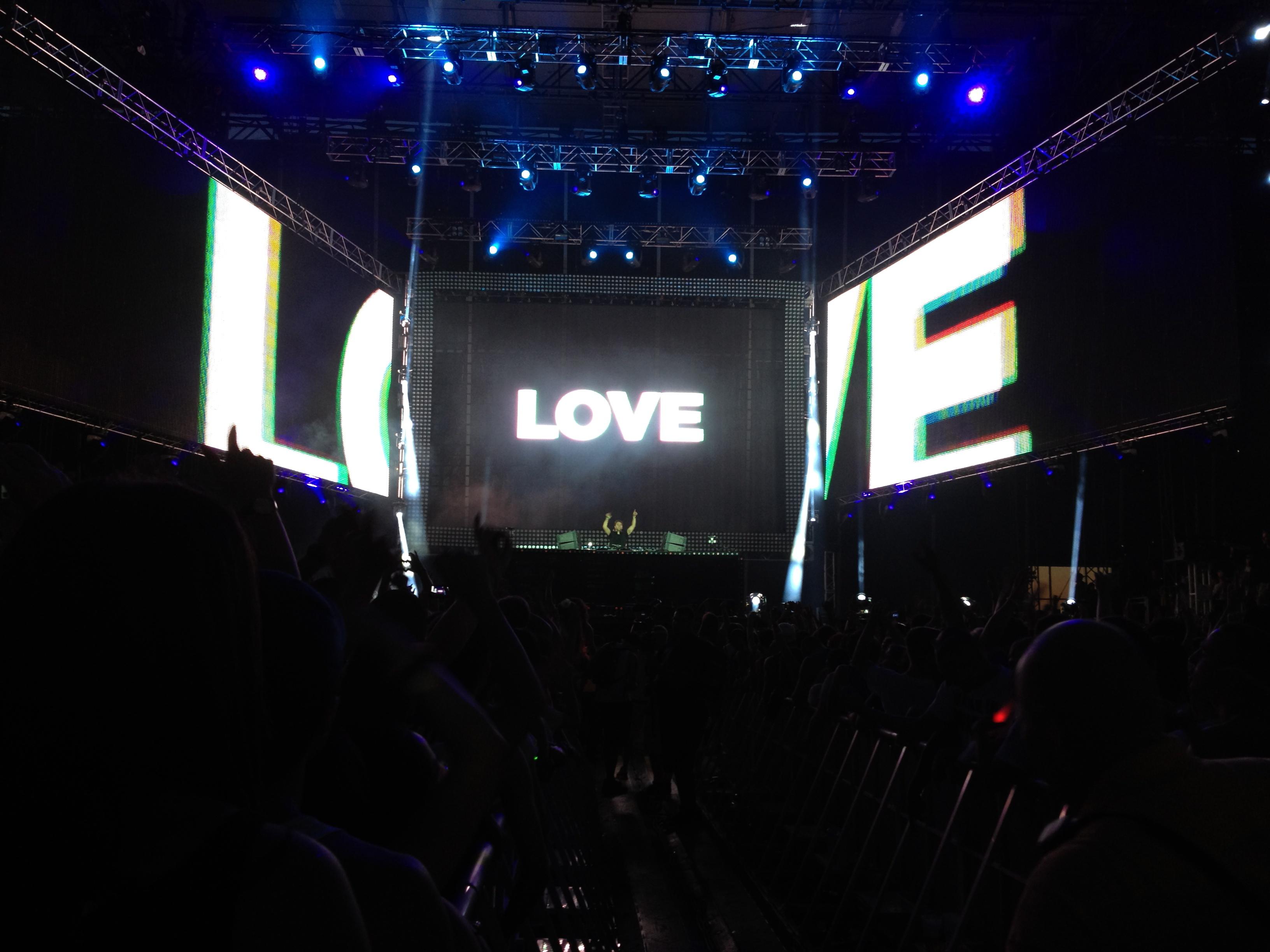 Love Stage at EDC NY