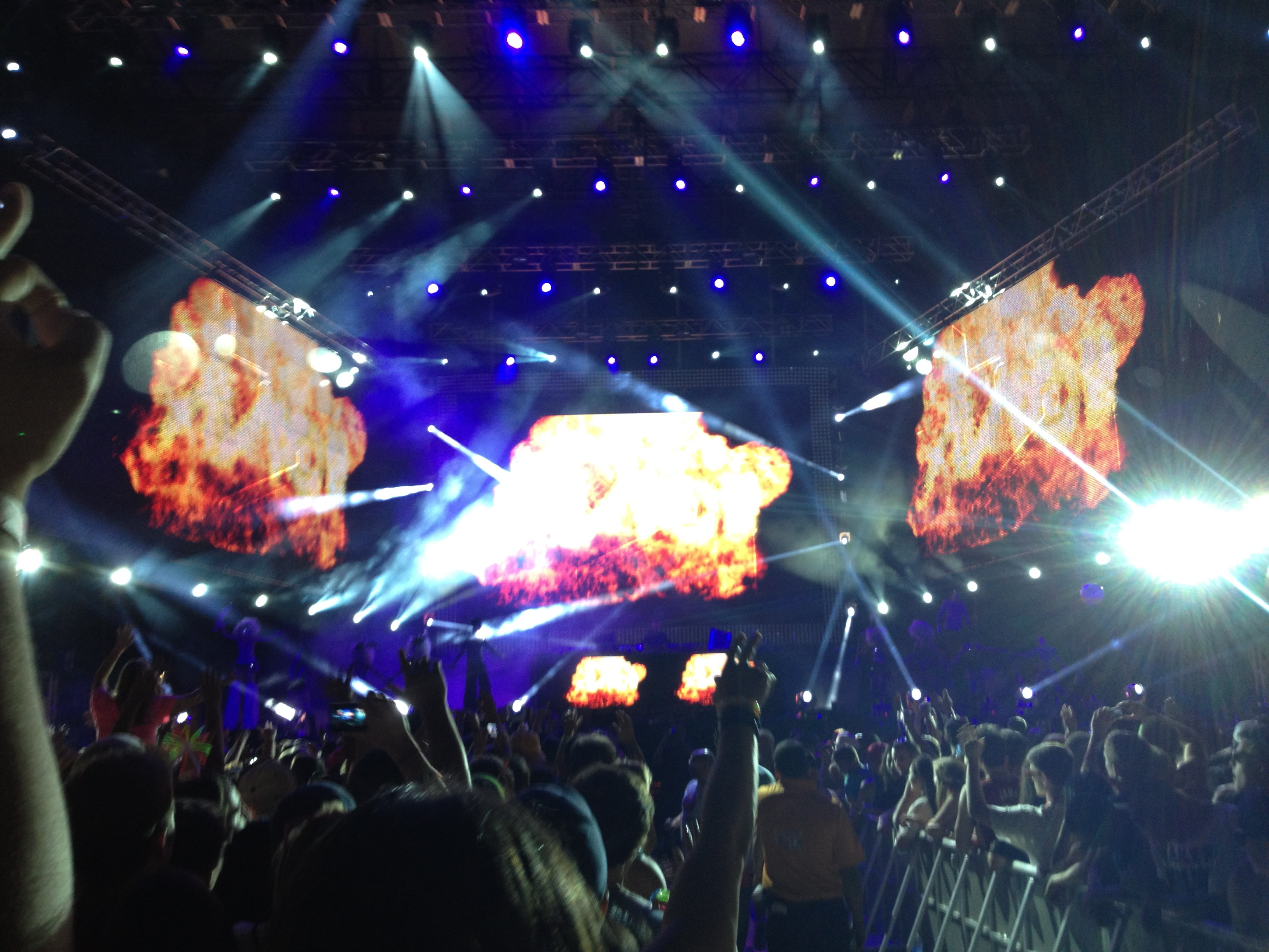 Fire Stage at EDC NY
