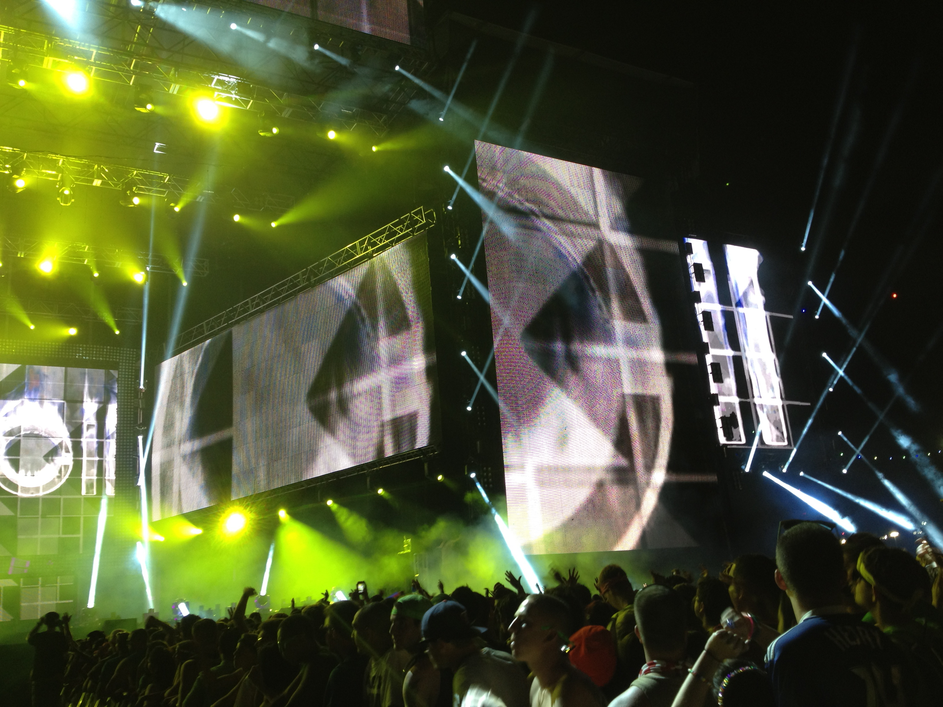 Awesome Stage at EDC NY