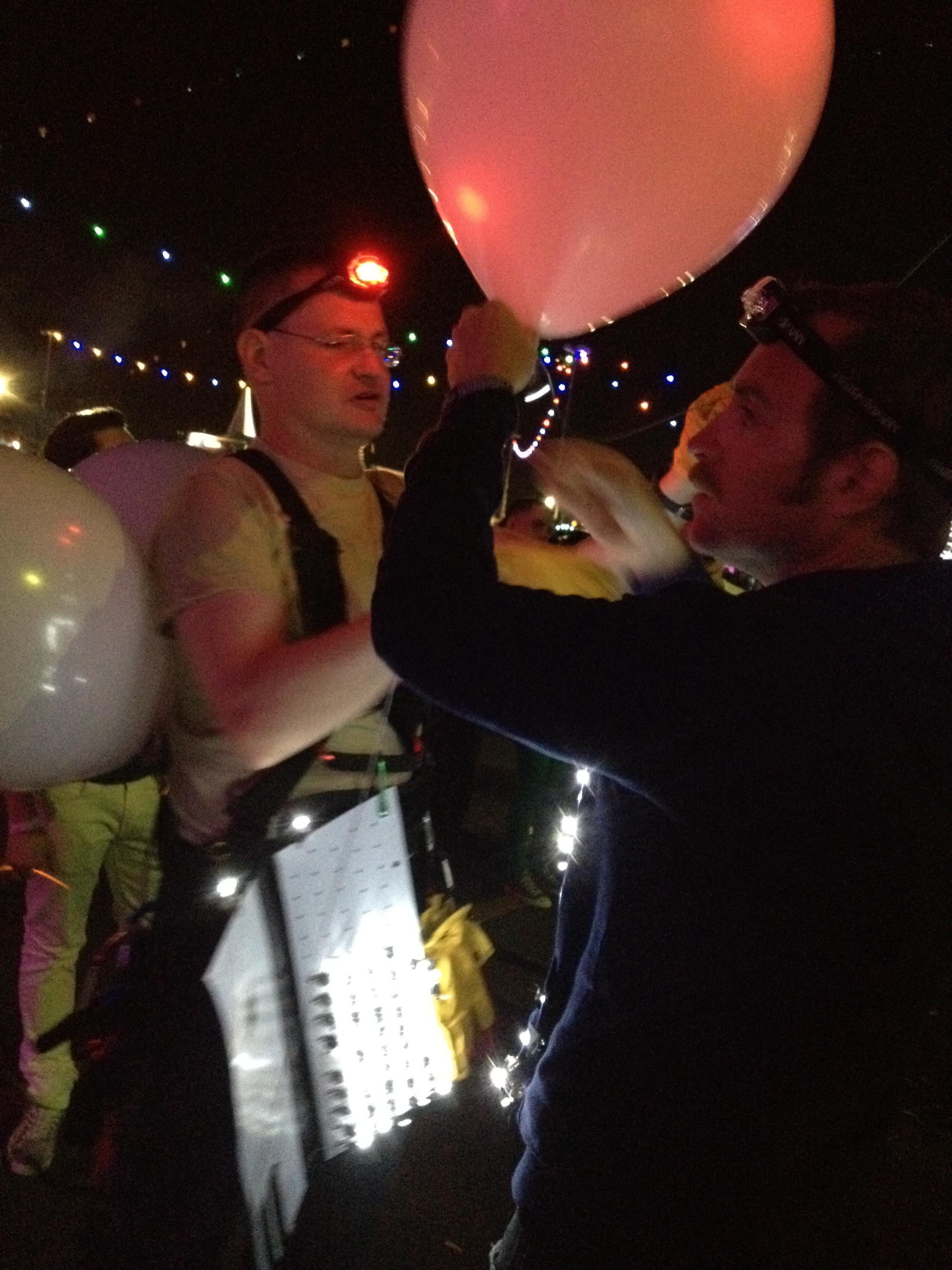 Balloon Lighting at EDC NY