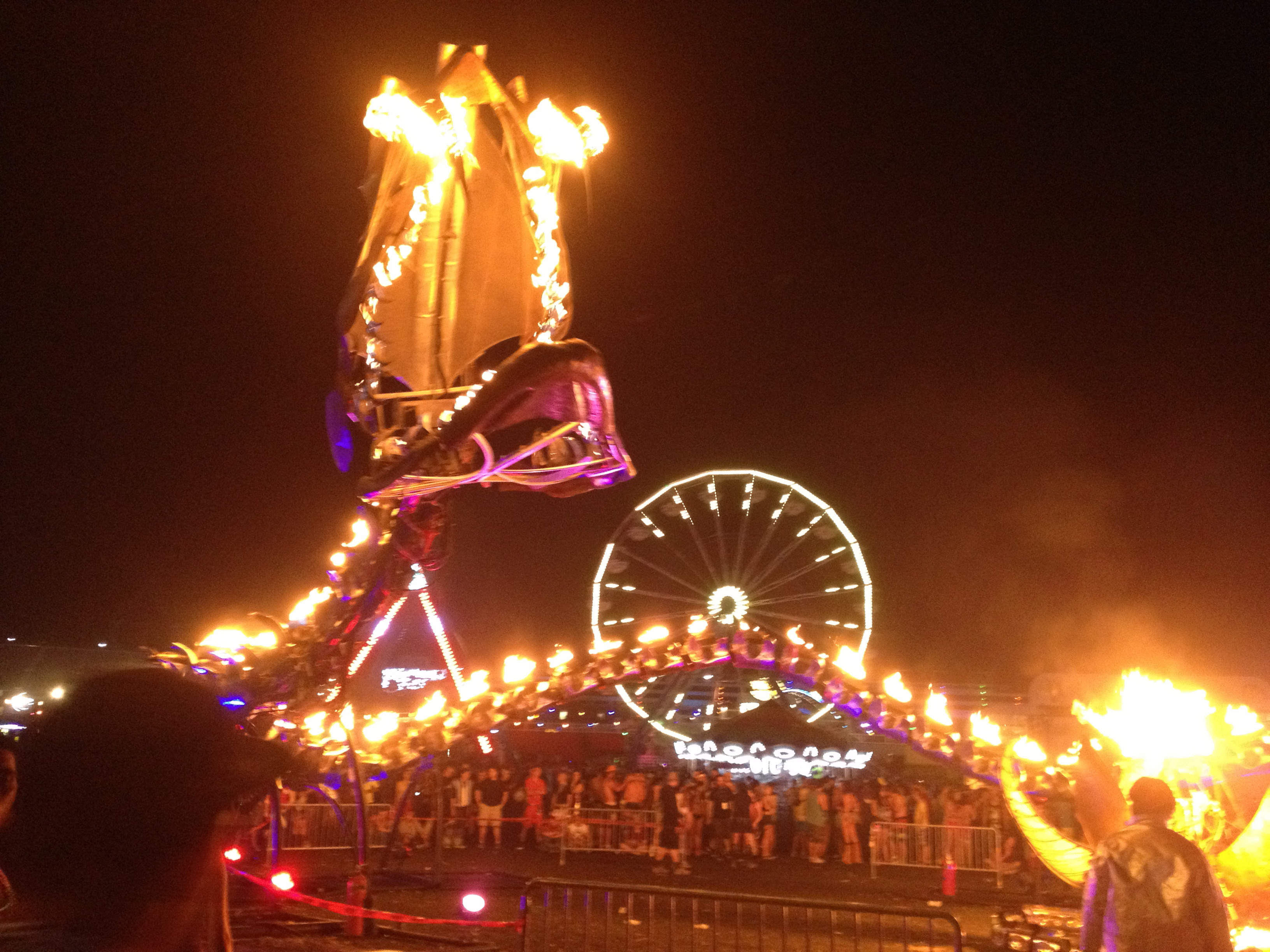 Fire Dragon at Electric Daisy Carnival