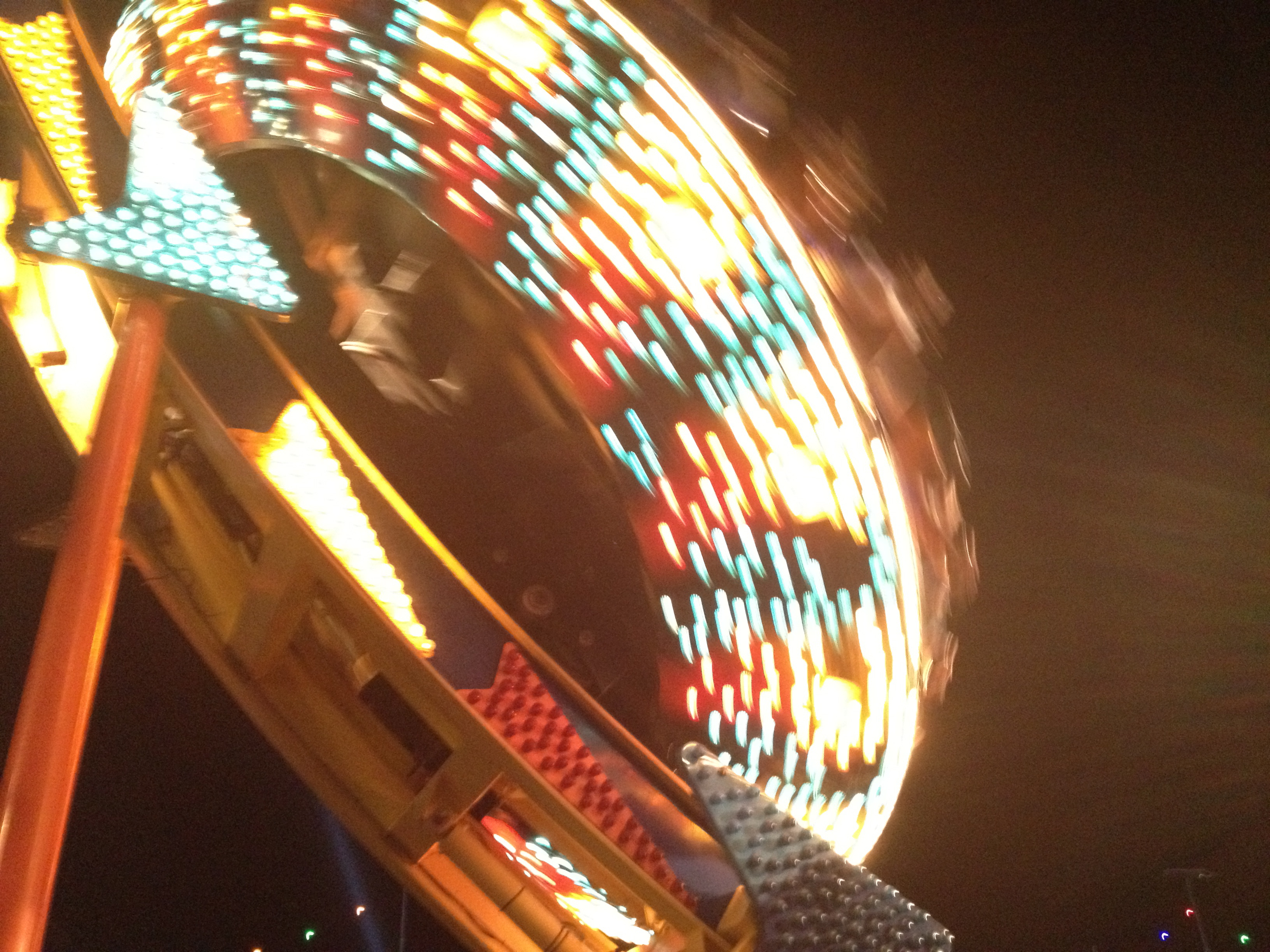 Rides at Electric Daisy Carnival