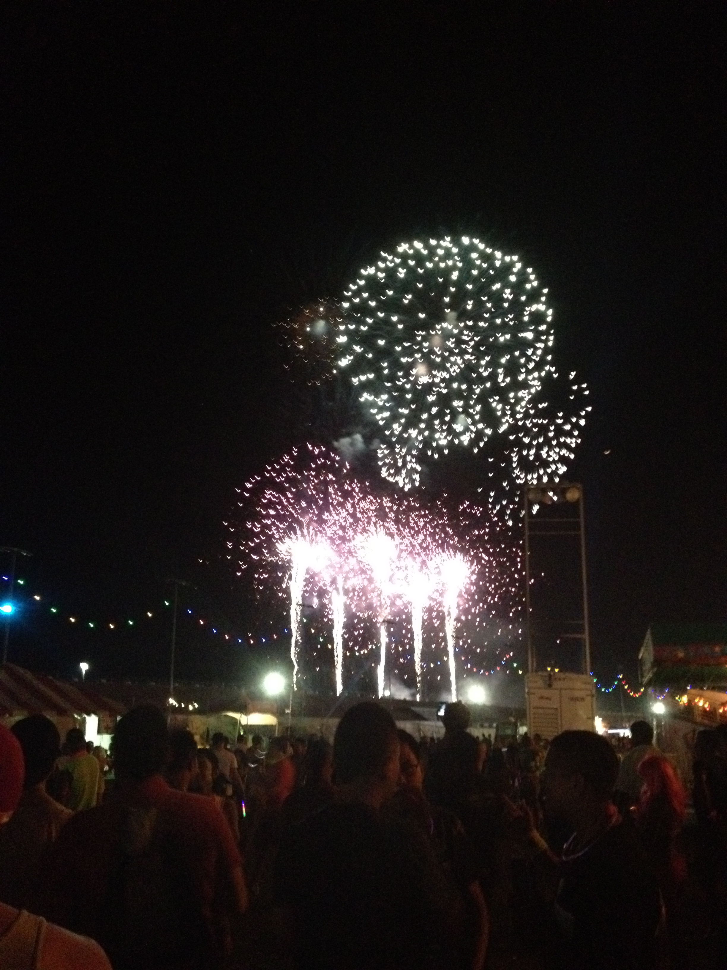 Fireworks at Electric Daisy Carnival