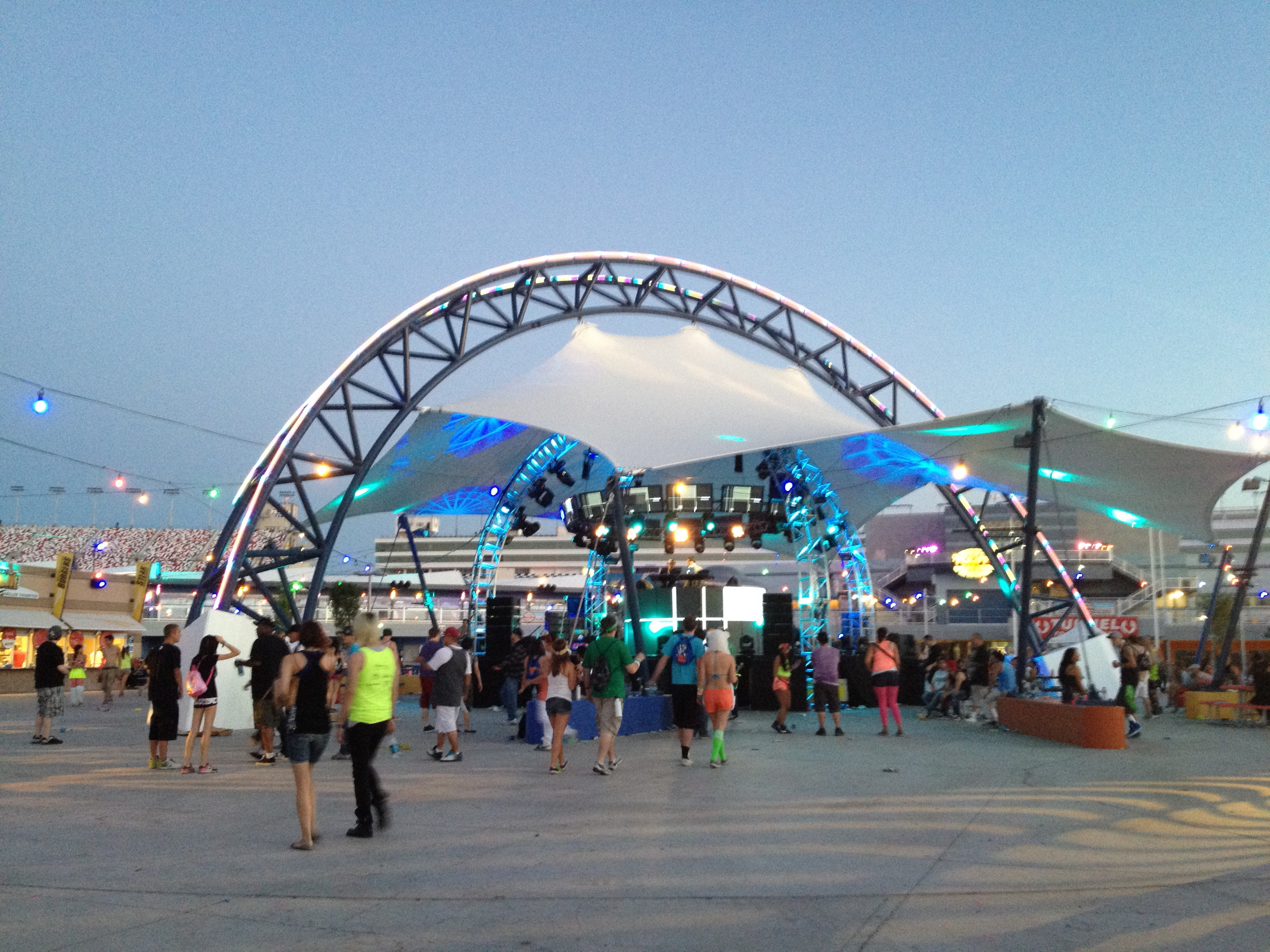 Center Small Stage at Electric Daisy Carnival