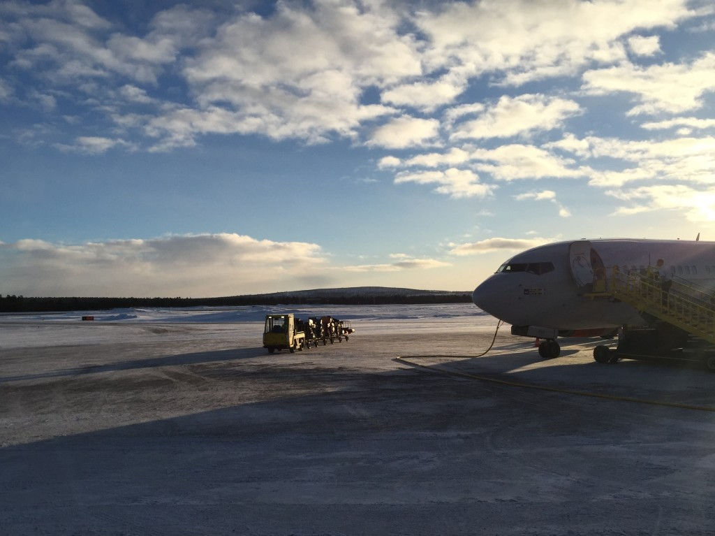 Kiruna Airport, North of the Article Circle
